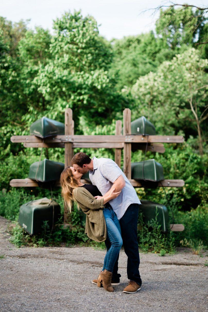 Nashville Radnor Lake Engagement Photographer
