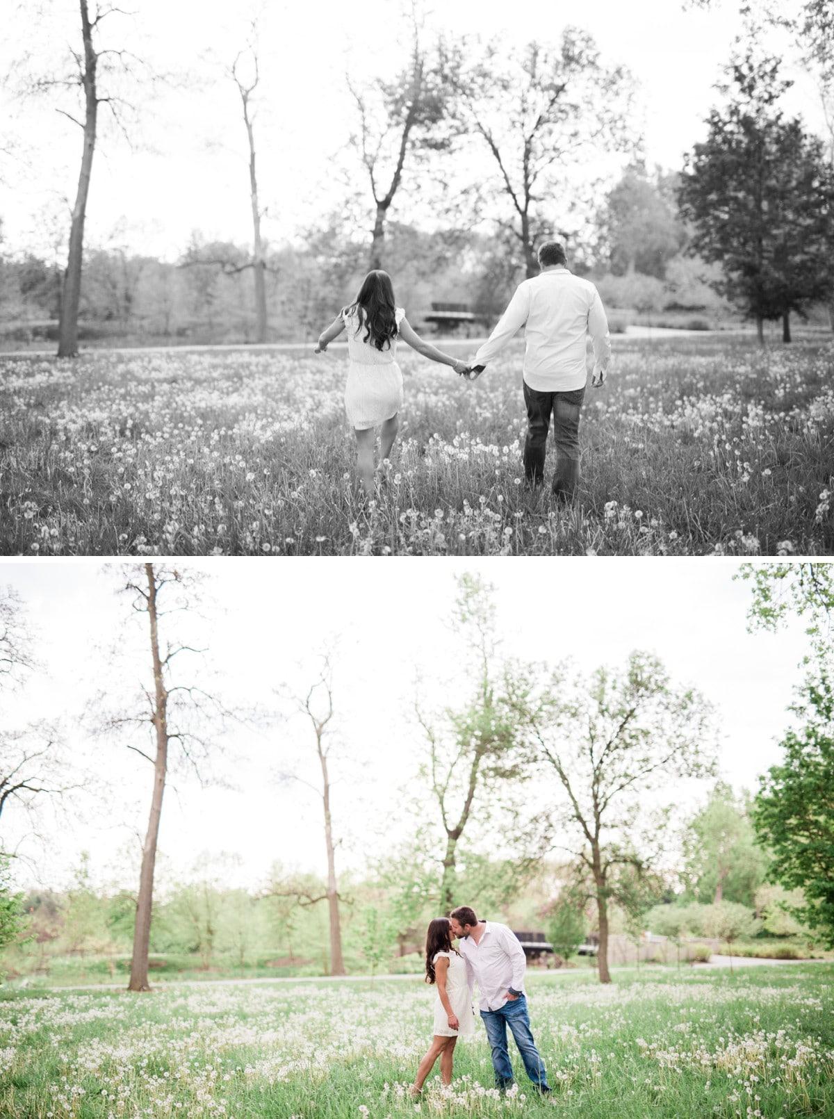 Saint Louis Forest Park Engagement and Wedding Photographer