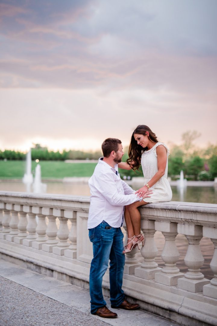 Saint Louis Forest Park Engagement and Wedding Photographer