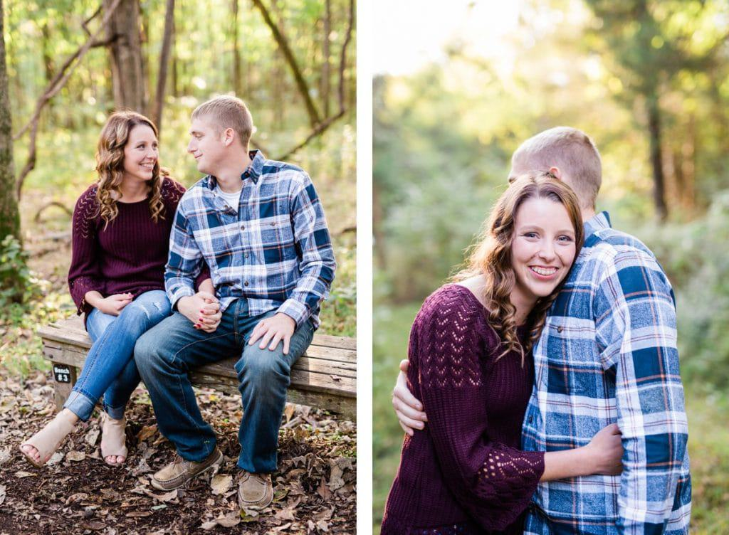 Nashville Engagement Photographer, Fall Radnor Lake Engagement Session