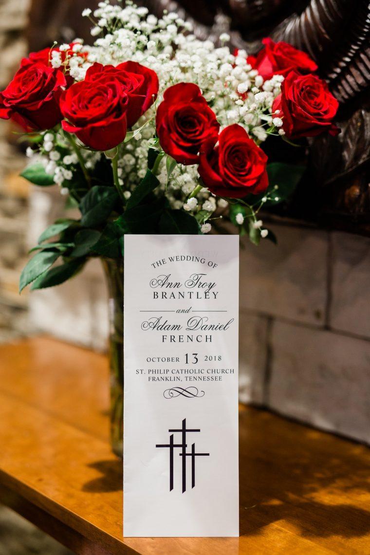 Nashville Wedding Photographers, St. Philip Catholic Church Franklin Wedding, Catholic Wedding Ceremony