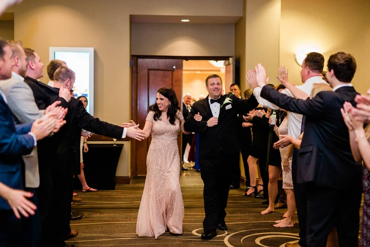 Nashville Wedding Photographers, Embassy Suites Cool Springs Wedding Reception Exit