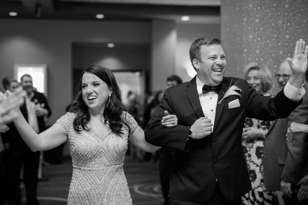 Nashville Wedding Photographers, Embassy Suites Cool Springs Wedding Reception Exit