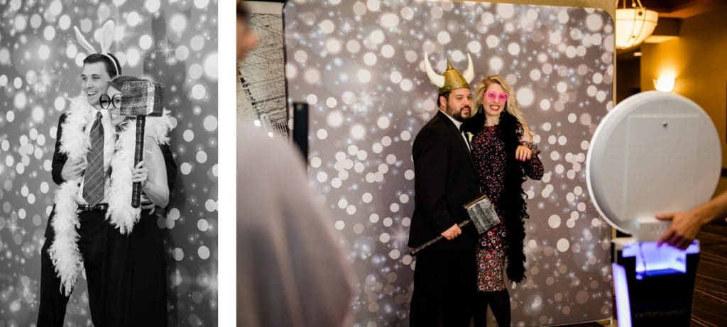 Nashville Wedding Photographers, Embassy Suites Cool Springs Wedding Reception, Party Booth Fun