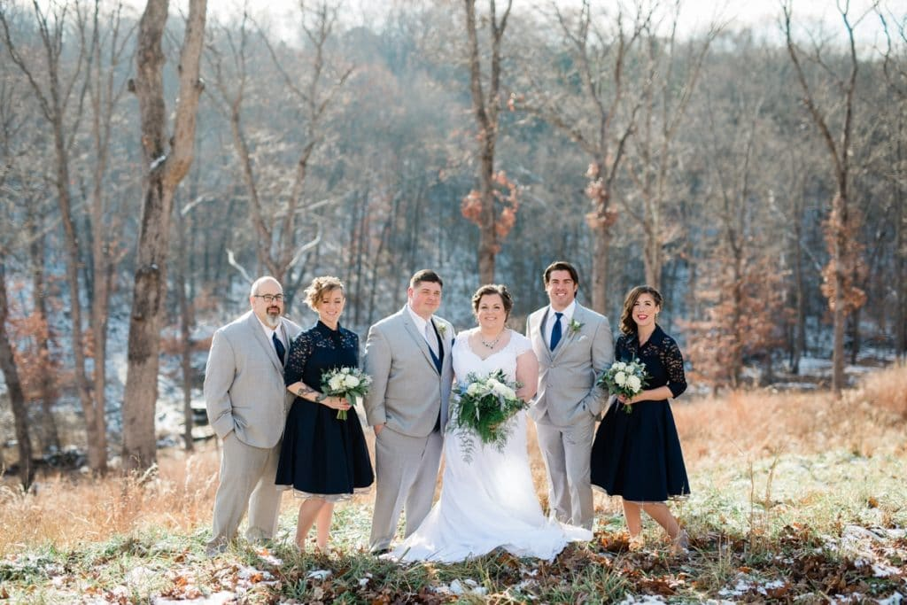 St. Louis Wedding Photographers, Silver Oaks Chateau Wedding, Wedding Party Portraits