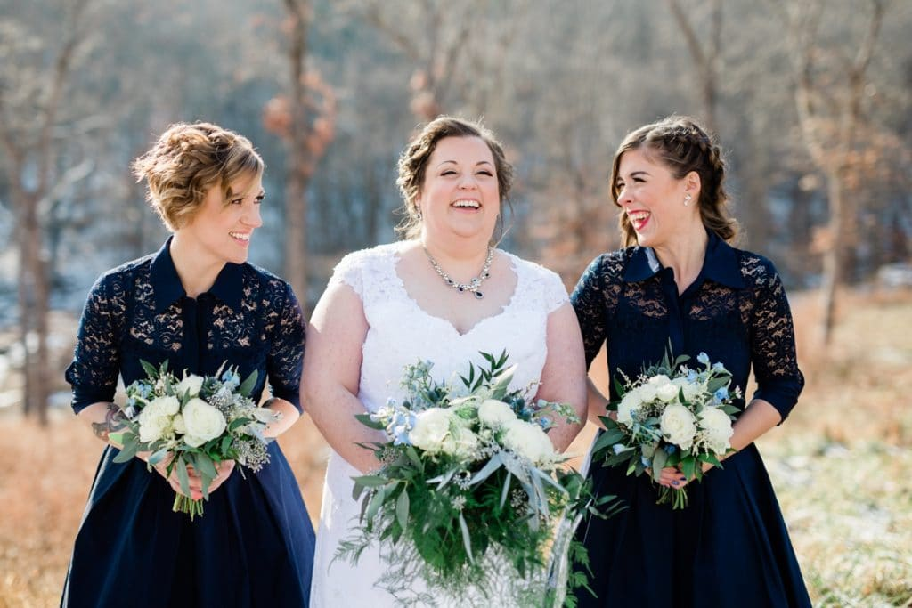 St. Louis Wedding Photographers, Silver Oaks Chateau Wedding, Bride and Bridesmaids Photos