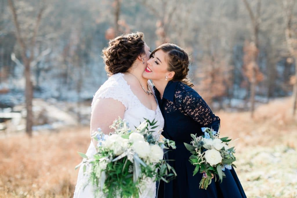 St. Louis Wedding Photographers, Silver Oaks Chateau Wedding, Bride and Bridesmaids