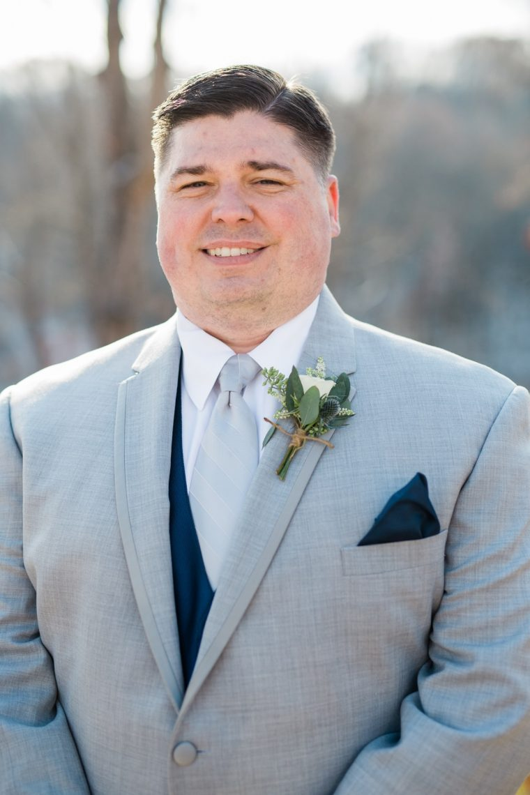 St. Louis Wedding Photographers, Silver Oaks Chateau Wedding, Groom Portrait