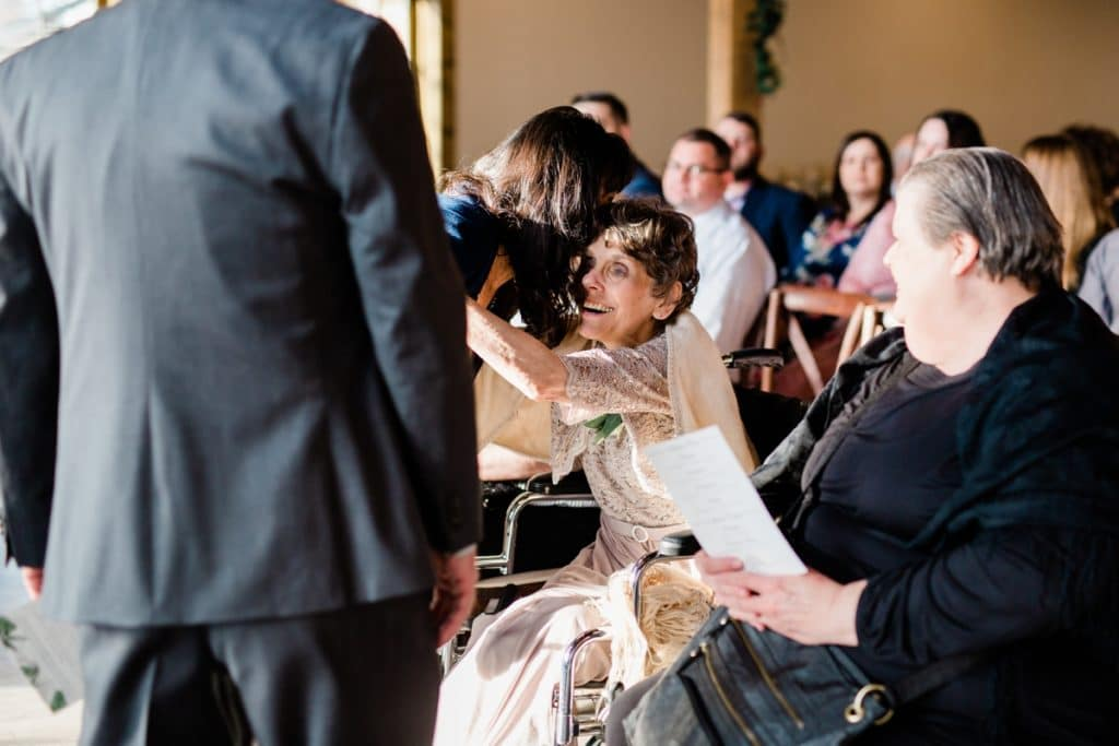 St. Louis Wedding Photographers, Silver Oaks Chateau Wedding, Ceremony and Guests