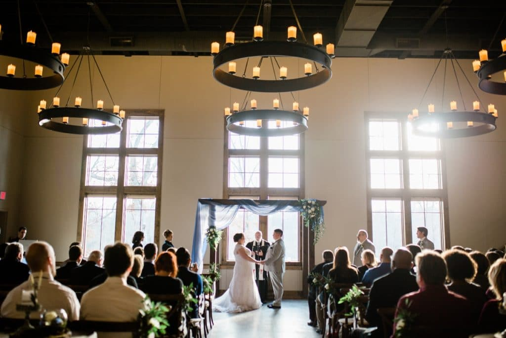 St. Louis Wedding Photographers, Silver Oaks Chateau Wedding, Ceremony
