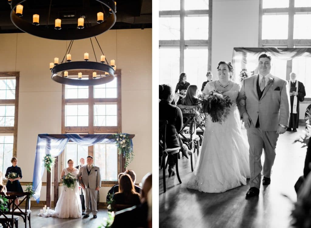 St. Louis Wedding Photographers, Silver Oaks Chateau Wedding, Recessional
