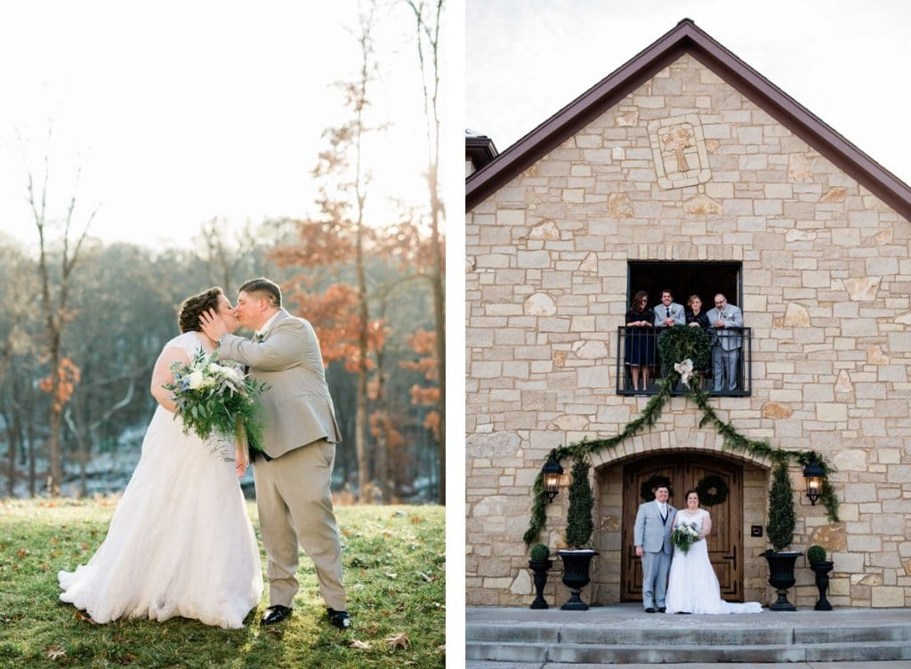 St. Louis Wedding Photographers, Silver Oaks Chateau Wedding, Bride and Groom Portraits