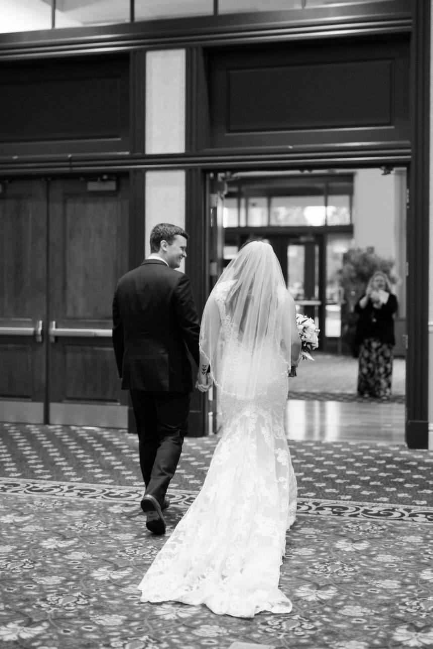 St. Louis Wedding Photographer, St. Charles Convention Center Wedding Ceremony