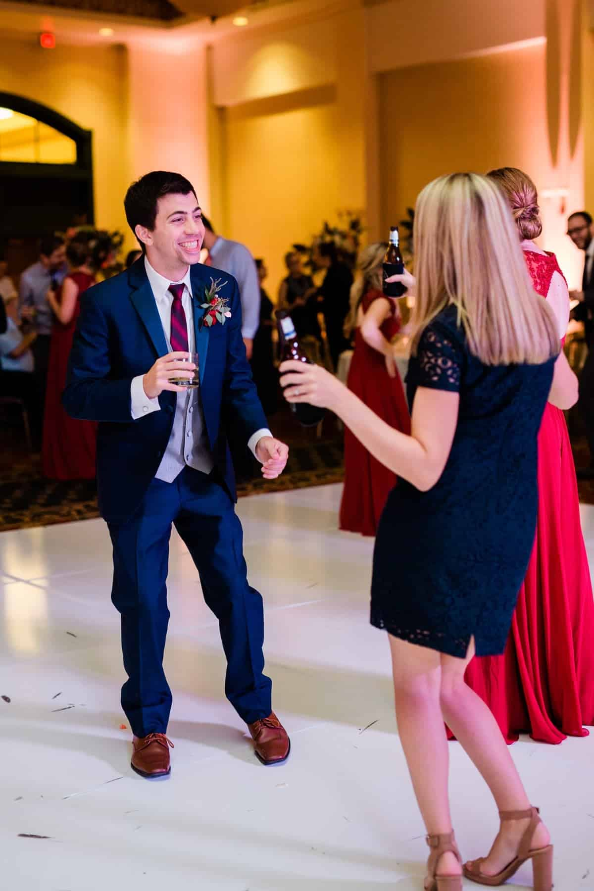 St. Louis Wedding Photographer, St. Charles Convention Center Wedding Reception, Wedding Reception Dancing