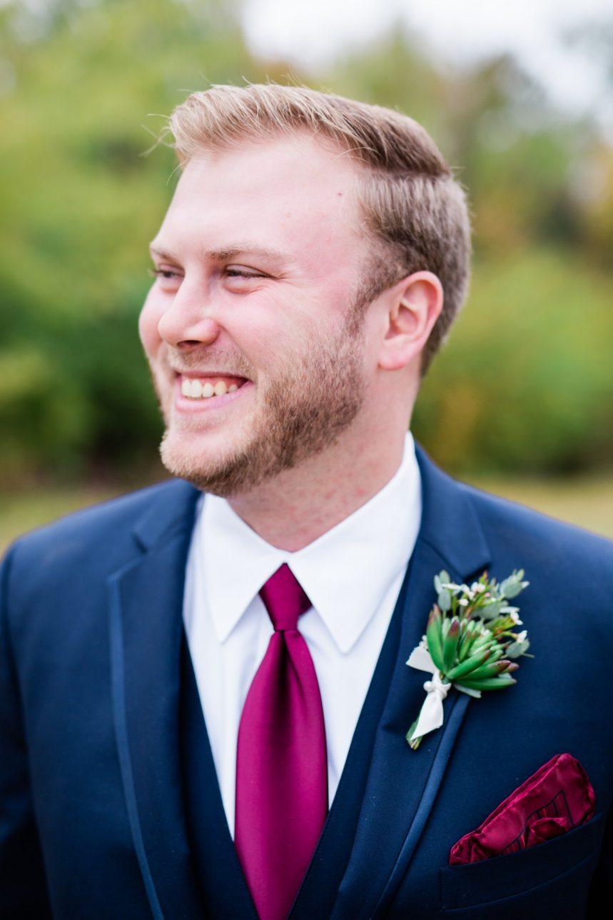 St. Louis Wedding Photographer, Piazza Messina Wedding, St. Louis Wedding Venue, Groom Portrait