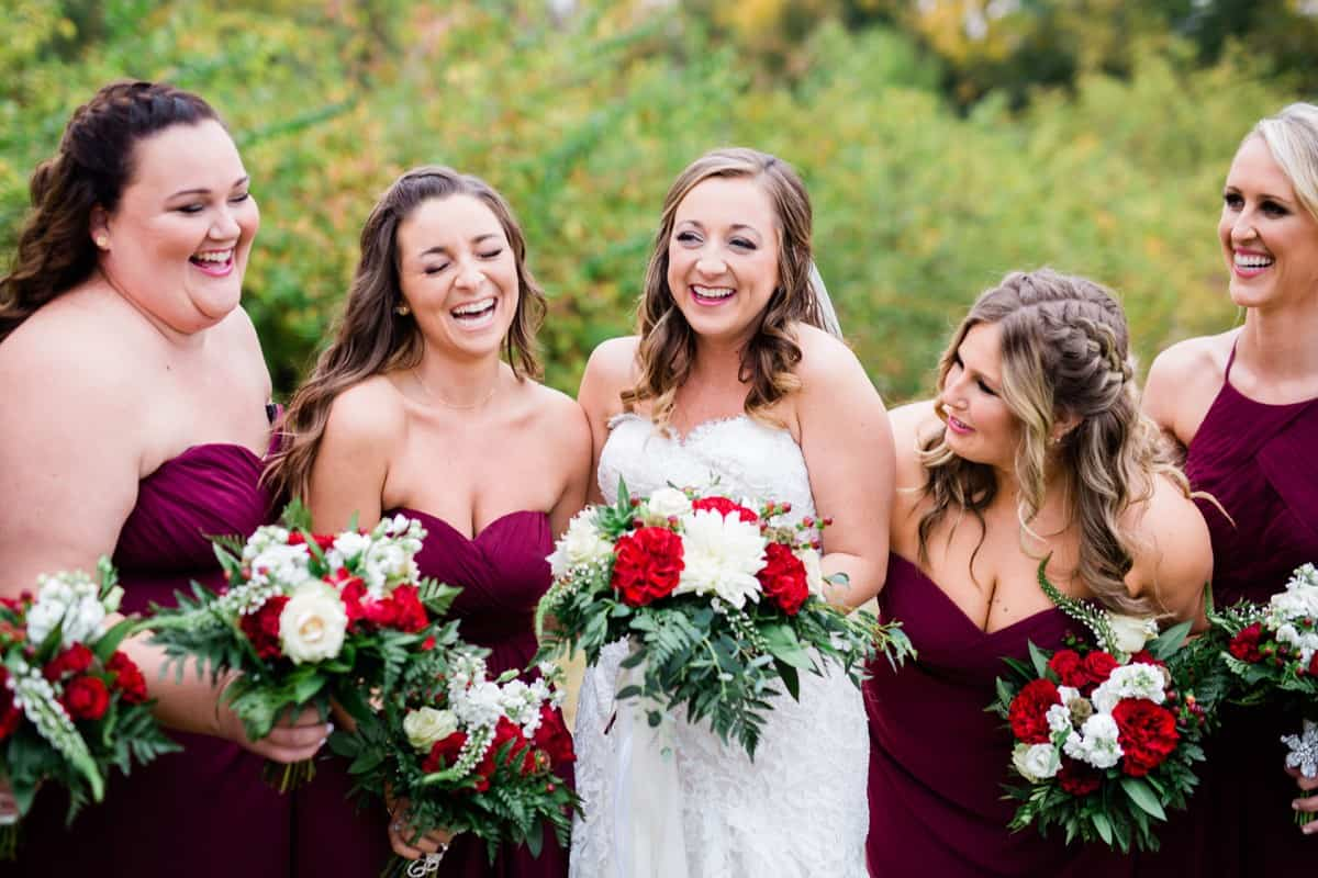 St. Louis Wedding Photographer, Piazza Messina Wedding, St. Louis Wedding Venue, Wedding Party Portraits, Bride and Bridesmaids