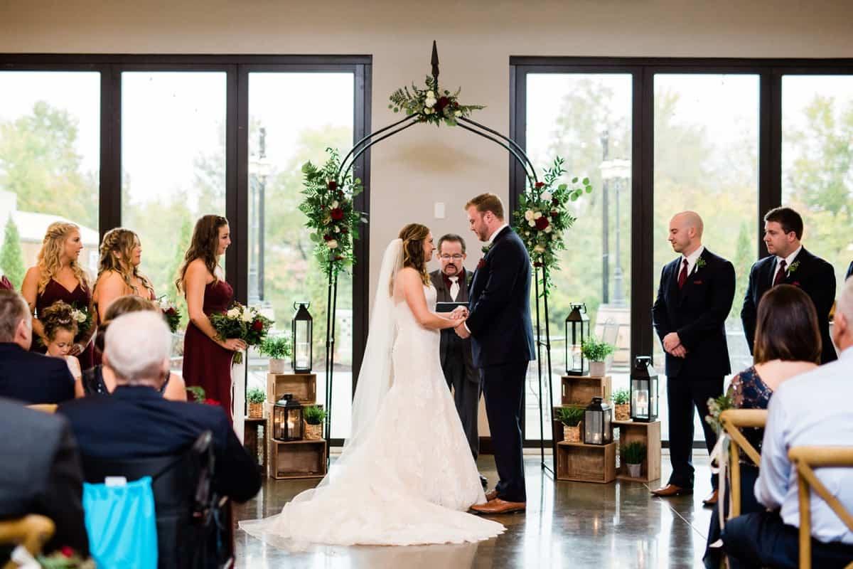 St. Louis Wedding Photographer, Piazza Messina Wedding Ceremony, St. Louis Wedding