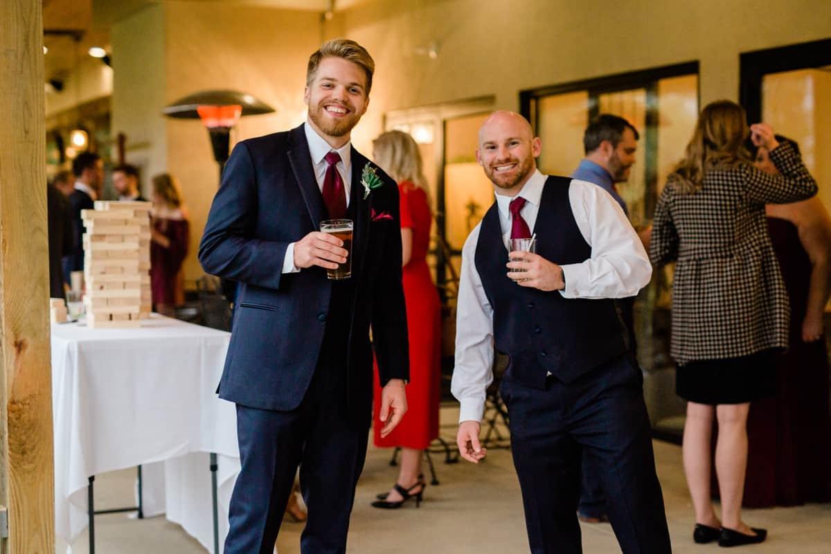 St. Louis Wedding Photographer, Piazza Messina Wedding Reception, St. Louis Wedding, Cocktail Hour