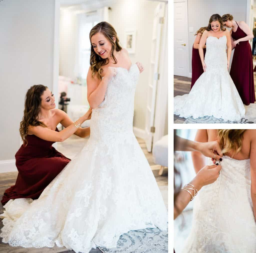 St. Louis Wedding Photographer, Piazza Messina Wedding, Bride Getting Ready