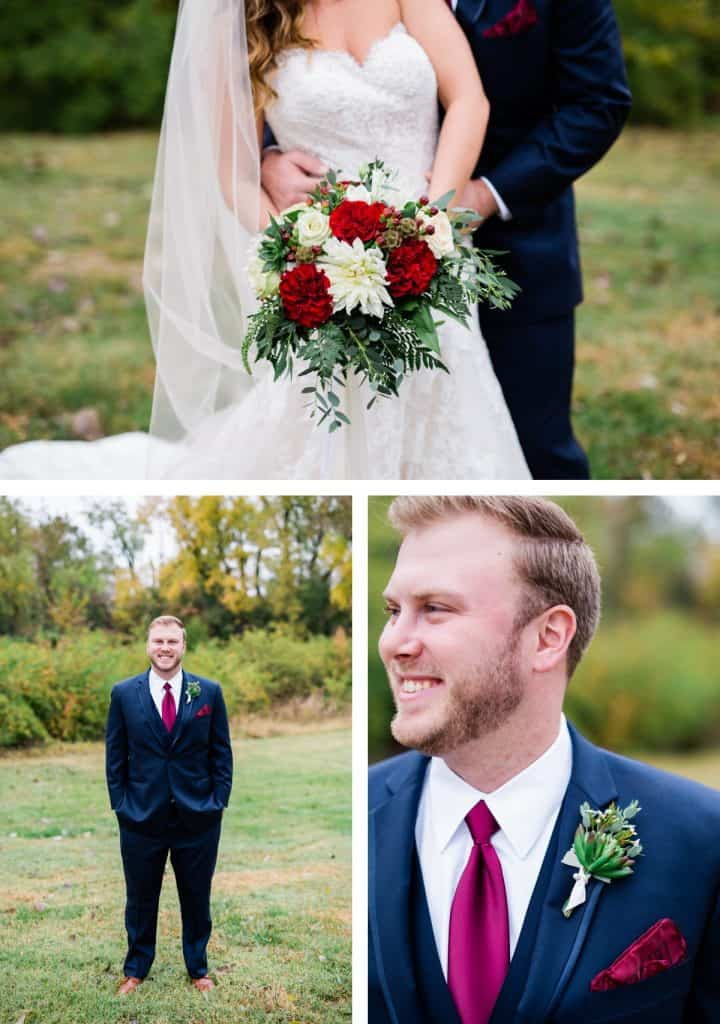 St. Louis Wedding Photographer, Piazza Messina Wedding, Bride and Groom Portraits