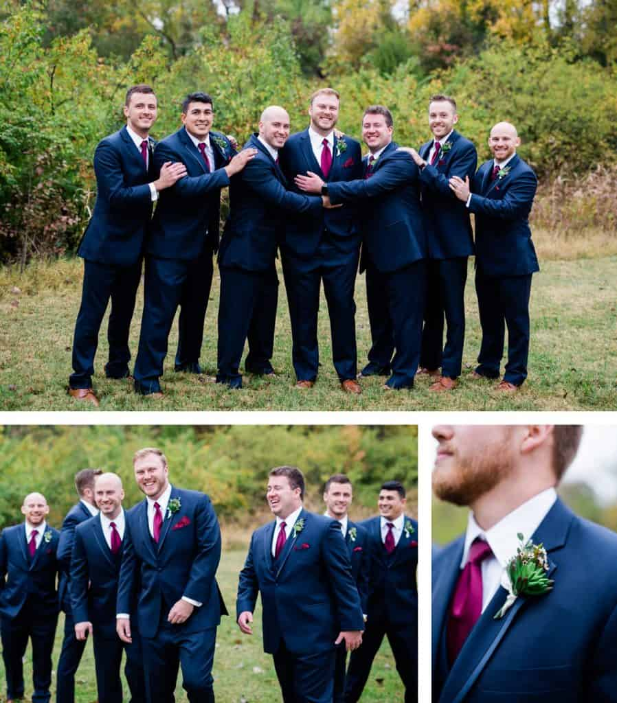 St. Louis Wedding Photographer, Piazza Messina Wedding, Wedding Party Portraits