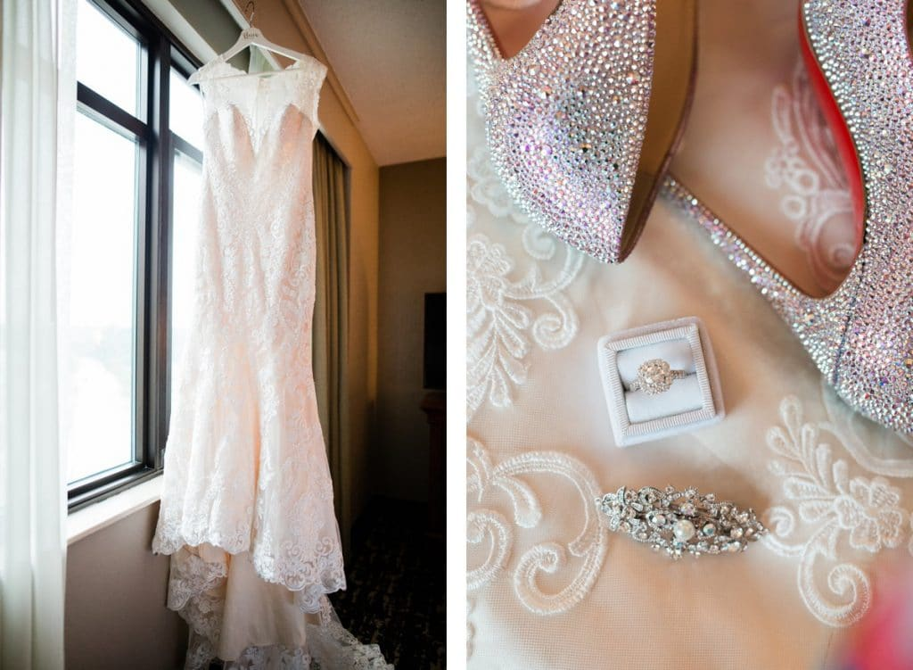 St. Louis Wedding Photographer, St. Charles Convention Center Wedding, Bridal Details