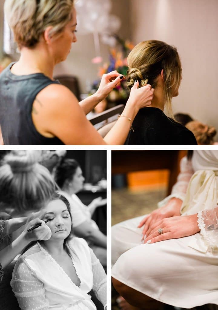 St. Louis Wedding Photographer, St. Charles Convention Center Wedding, Bride Getting Ready