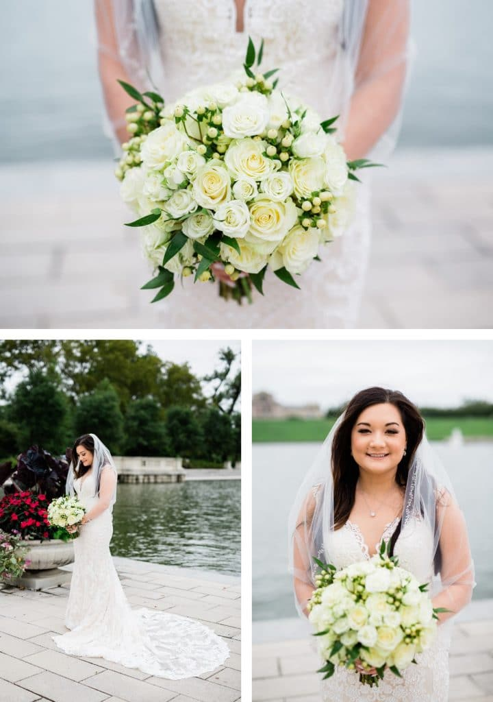 St. Louis Wedding Photographer, St. Charles Convention Center Wedding, Bridal Portraits at Forest Park