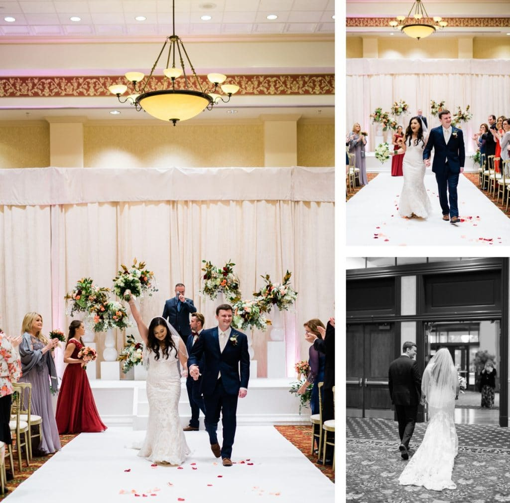 St. Louis Wedding Photographer, St. Charles Convention Center Wedding, Wedding Ceremony