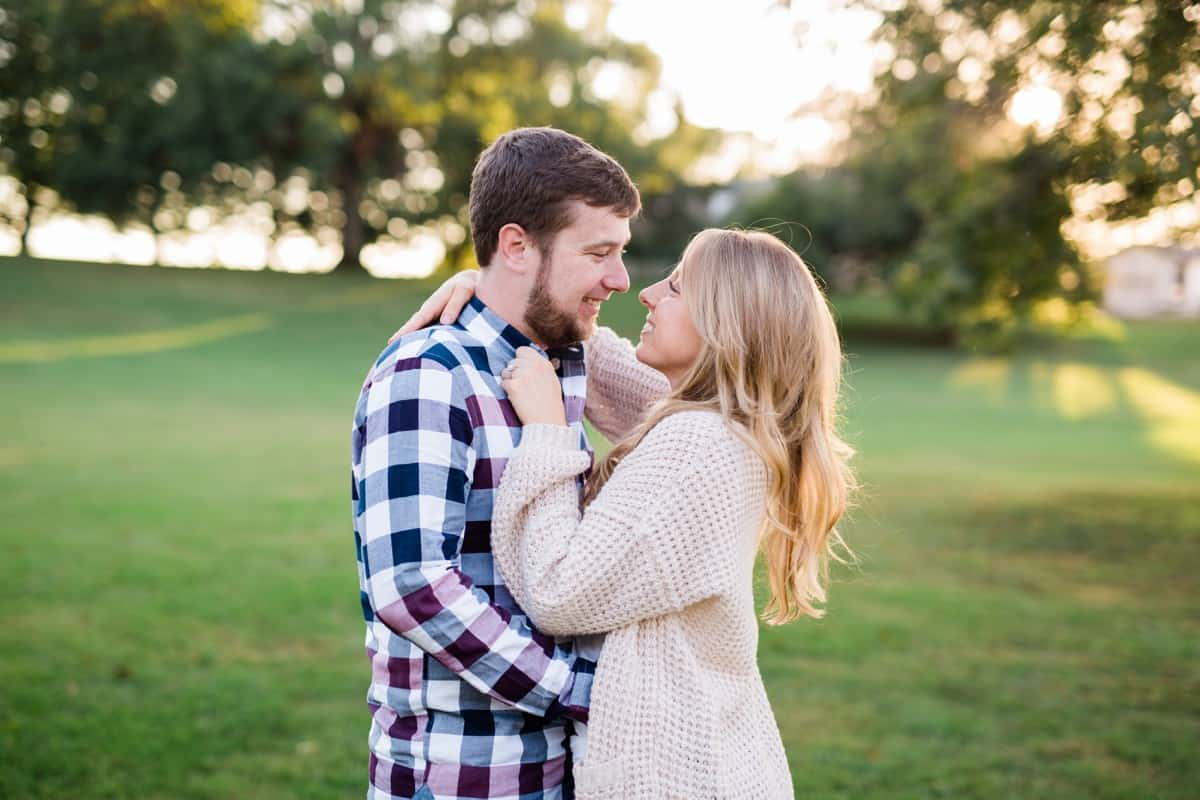 St. Louis Engagement Photographer, Kuhs Estate & Farm Engagement Session