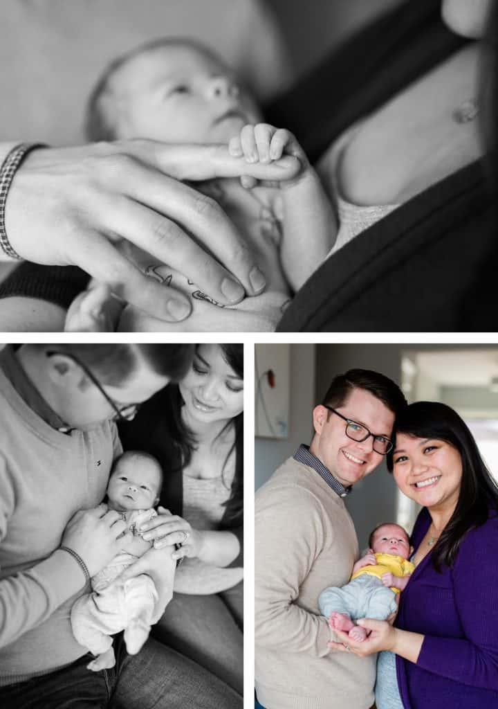 St. Louis Newborn Photographer, Baby Session at Home, Lifestyle Baby Session