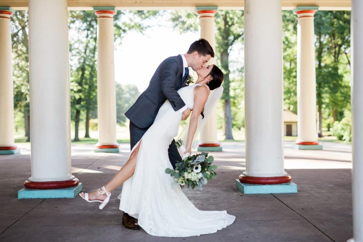 Tower Grove Park at the Music Stand Wedding, St. Louis Wedding Photographer