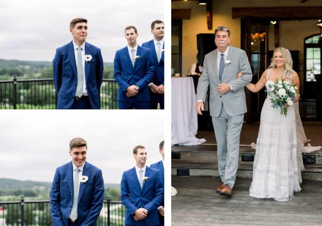 Wedding at Chandler Hill Vineyards in Defiance, Missouri, St. Louis Wedding Photographer
