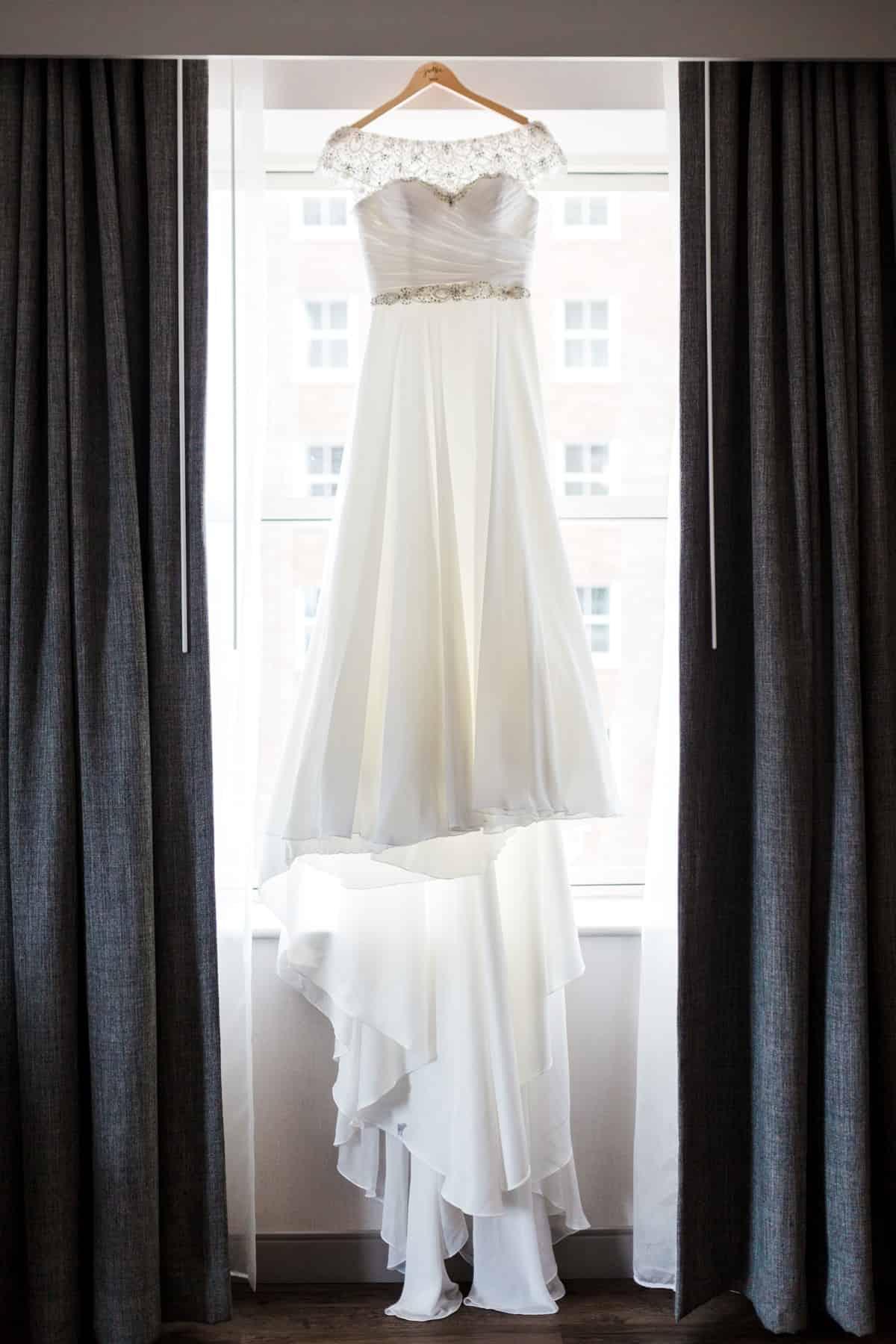 Statler Ballroom Marriott Grand Wedding