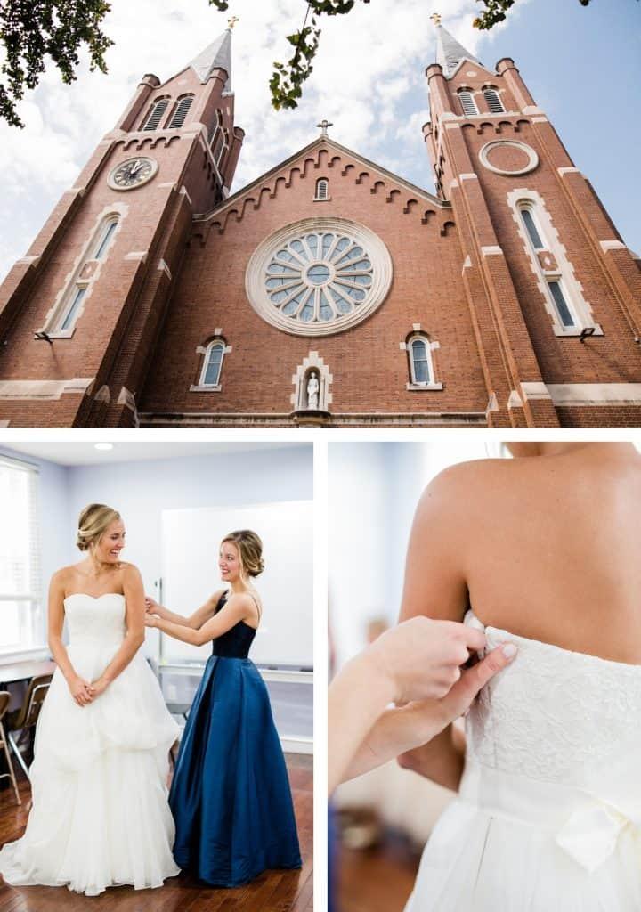 St. Cecelia Wedding, STL Wedding Photographer