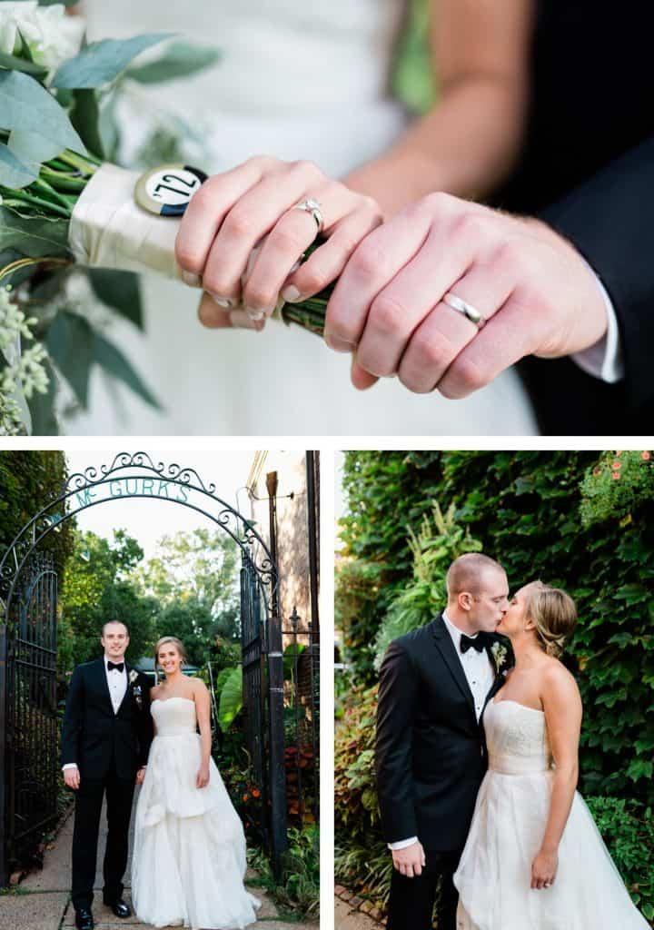 St. Louis Wedding Photographer, McGuirks Wedding Portrait
