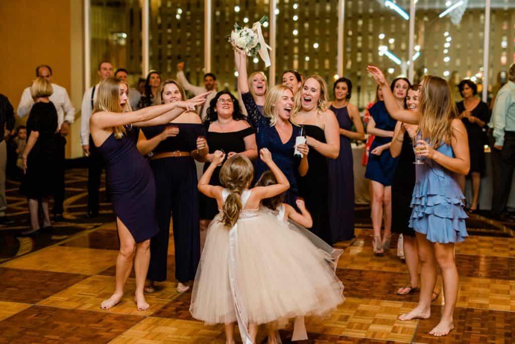 Hilton at the Ballpark Arch View Ballroom Wedding Reception, St. Louis Wedding Photographer