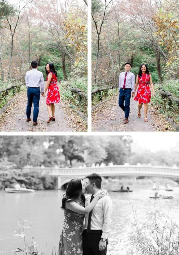New York City Central Park Engagement Photographer