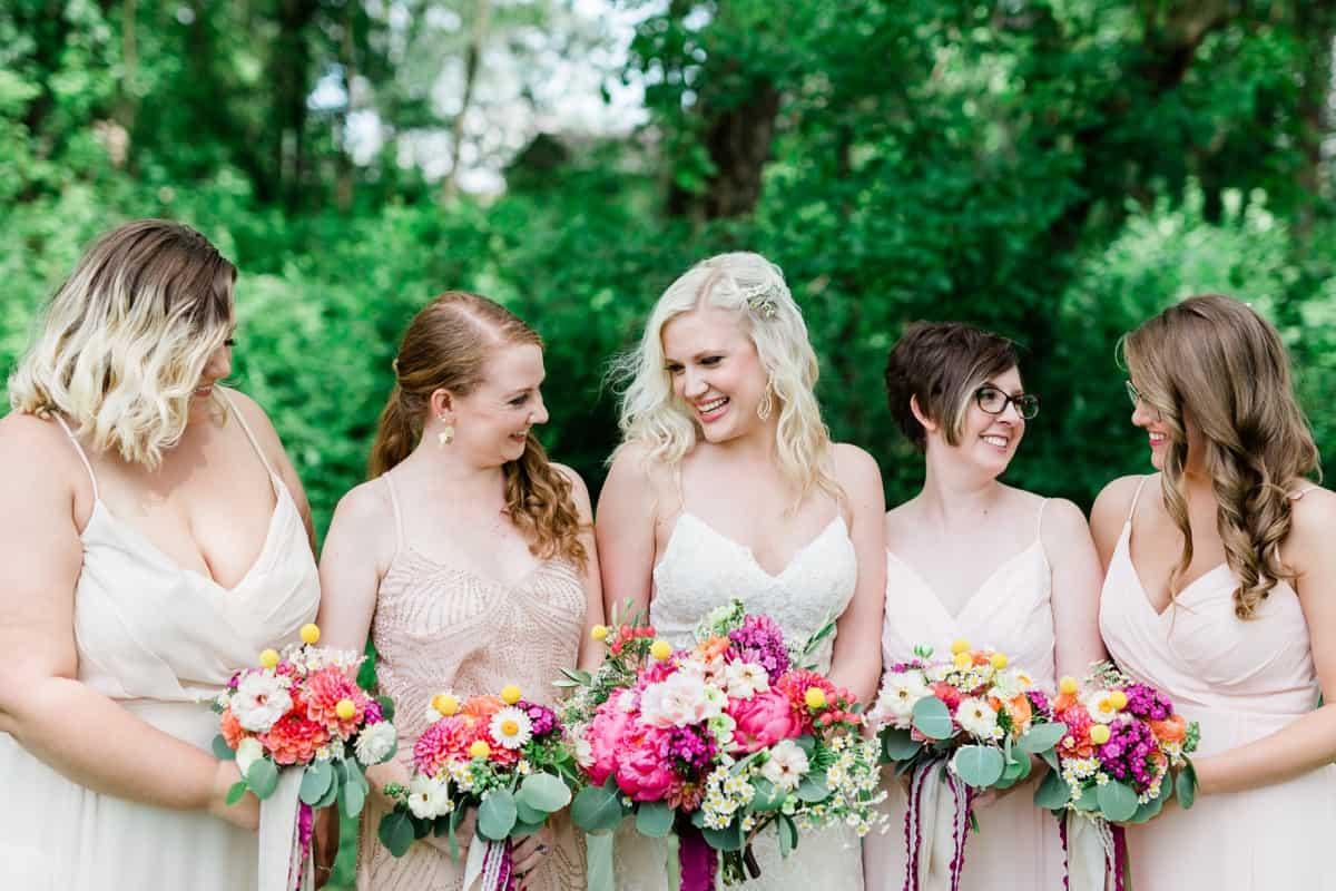 St. Louis Wedding Photographer, Bridesmaid and Bride