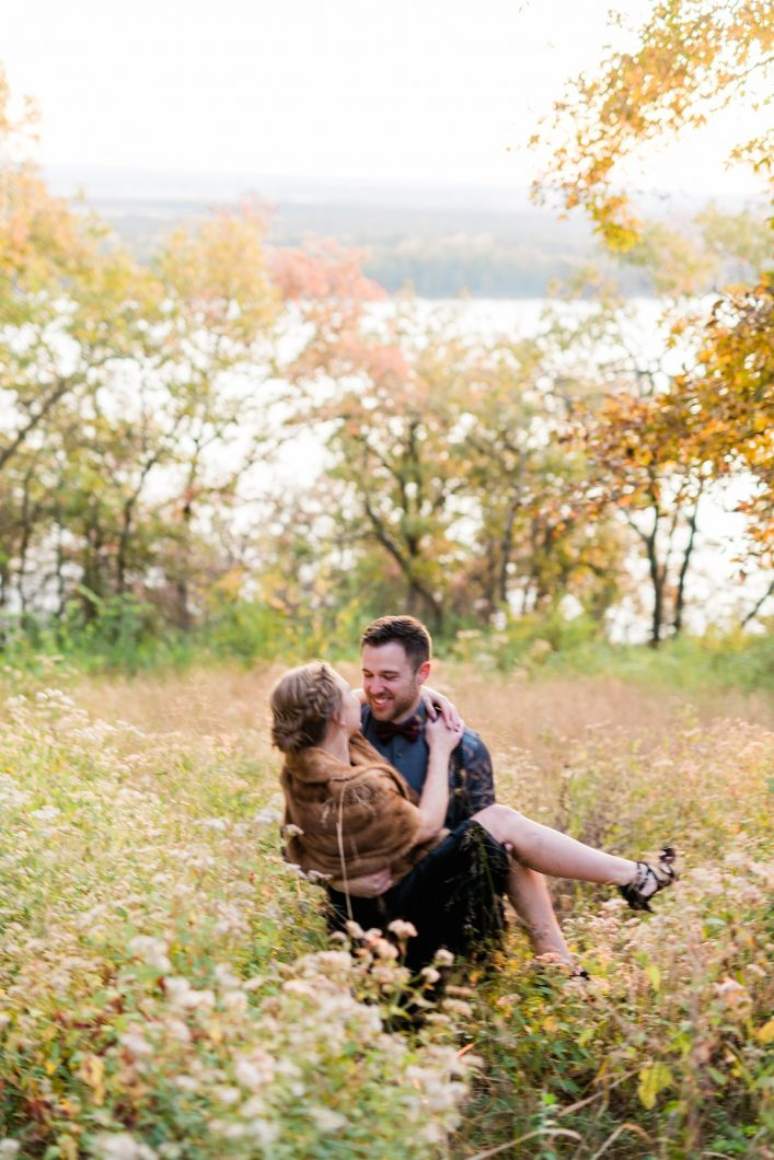 Grafton Illinois Engagement Session_3011