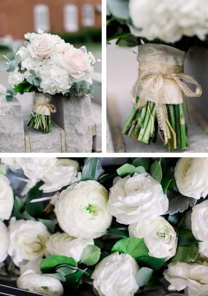 St. Cecelia Catholic Church Wedding, Wedding Flower Details