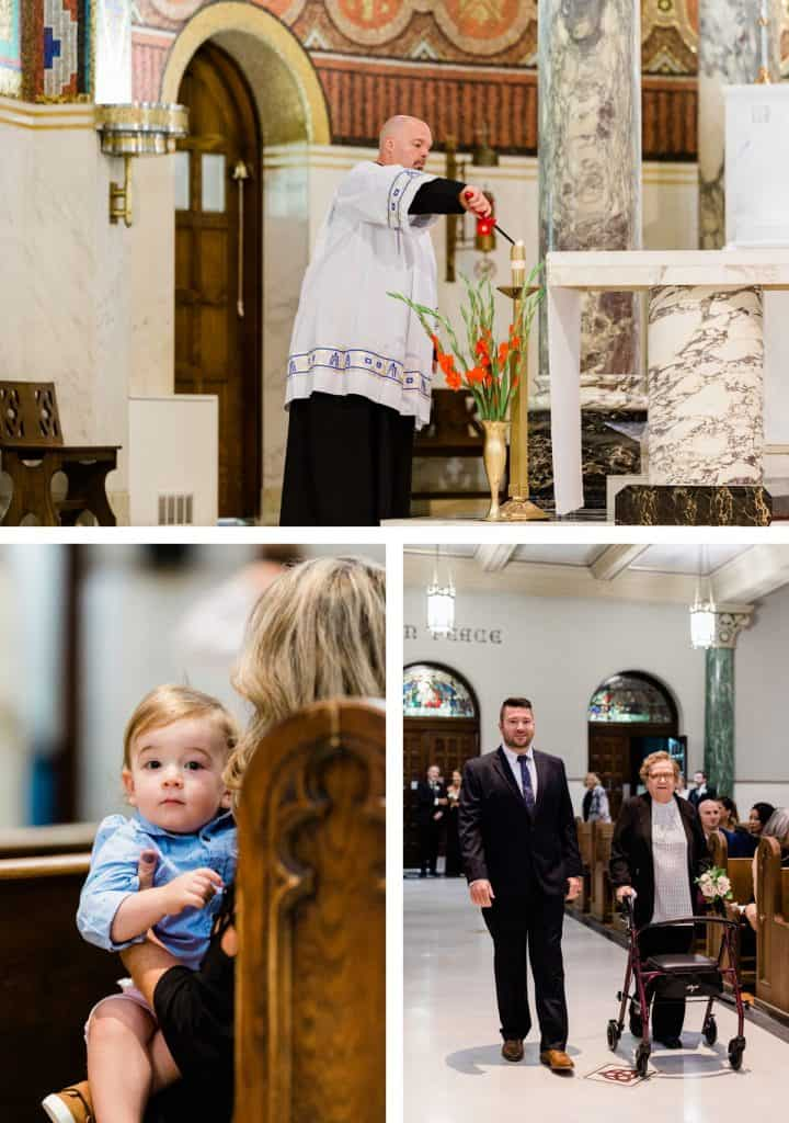 St. Cecelia Catholic Church Wedding Ceremony, St. Louis, MO