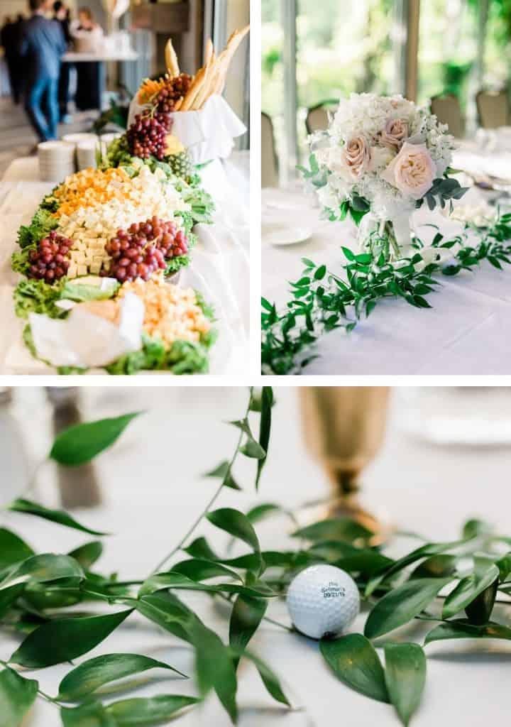 St. Louis Forest Park Golf Course Wedding, Reception Details