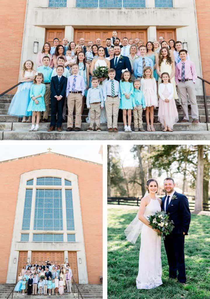 St. Henry's Catholic Church Wedding in Nashville, TN