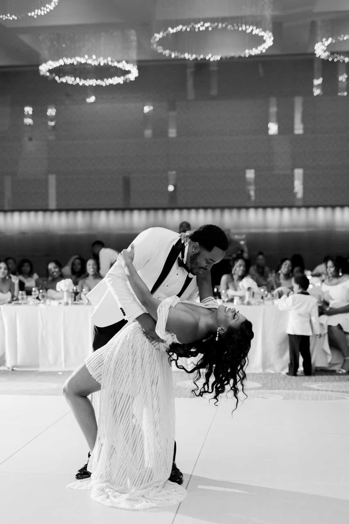 Four Seasons Hotel Wedding, Wedding Reception, Bride and Groom First Dance