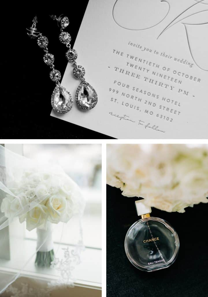 Downtown St. Louis Four Seasons Hotel Wedding, wedding Details
