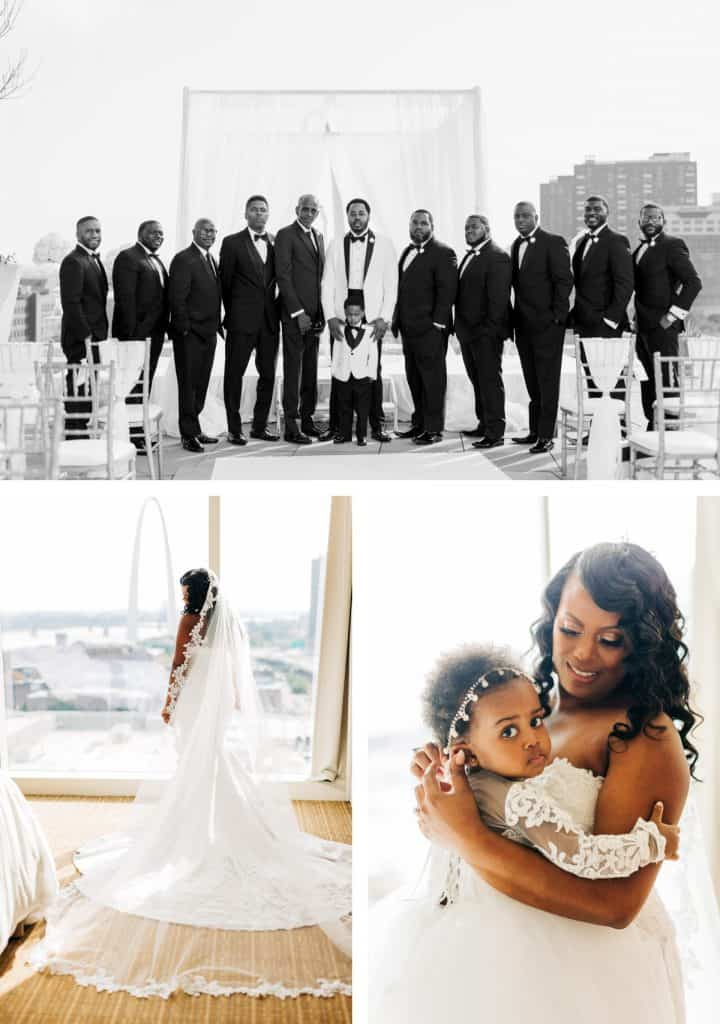 Downtown St. Louis Four Seasons Hotel Wedding