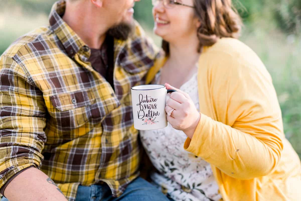 Faust Park Engagement Session in October