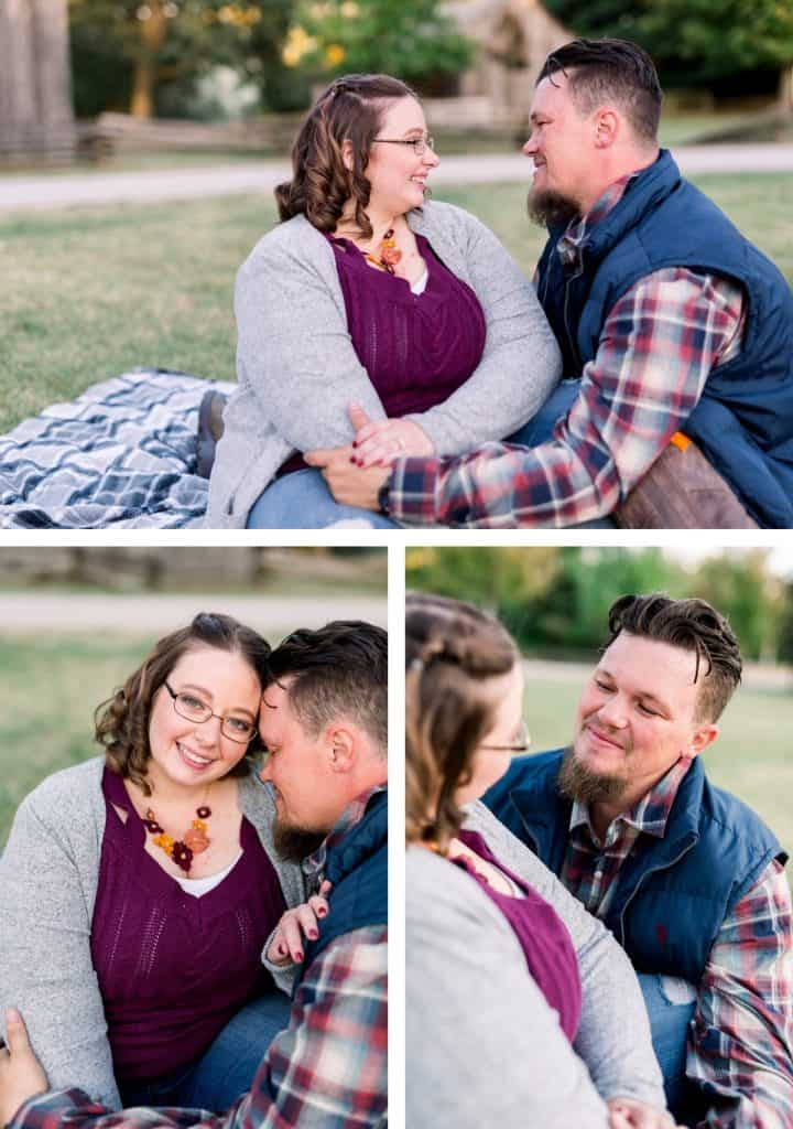 Chesterfield MO Engagement Session at Faust Park