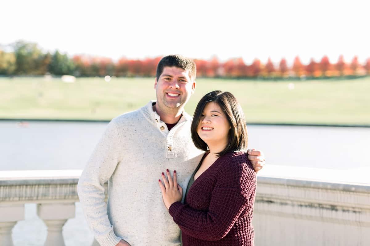 St. Louis Surprise Proposal Photographer, Proposal Engagement Session at Forest Park, St. Louis, MO